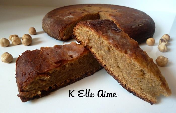 Le gâteau moelleux noisette de Conticini, deuxièmeversion