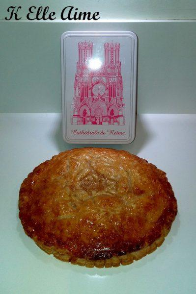 La galette aux biscuits roses deReims